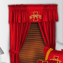NCAA 88 Iowa State Cyclones Curtain Valance by Sports Coverage Inc.