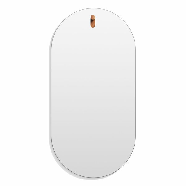 Hang 1 Capsule Accent Mirror by Blu Dot