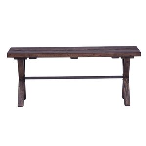 Abella Wood Bench by Trent Austin Design