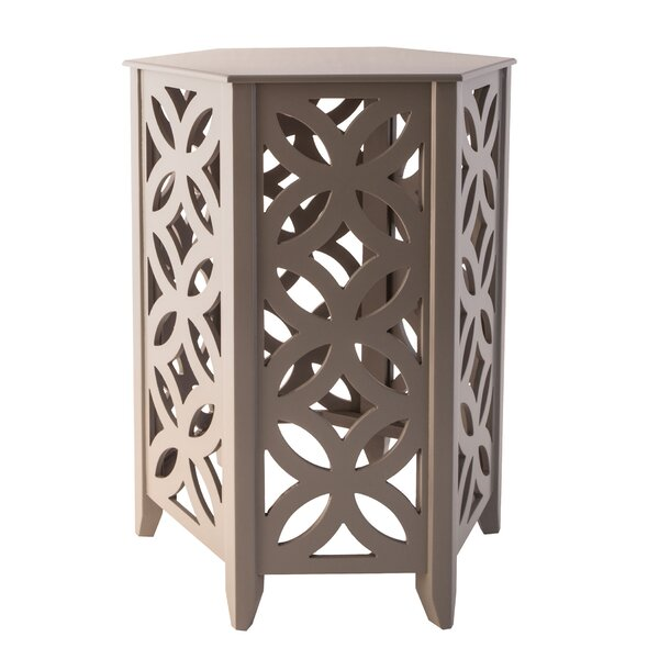 Hyannis End Table by Bungalow Rose