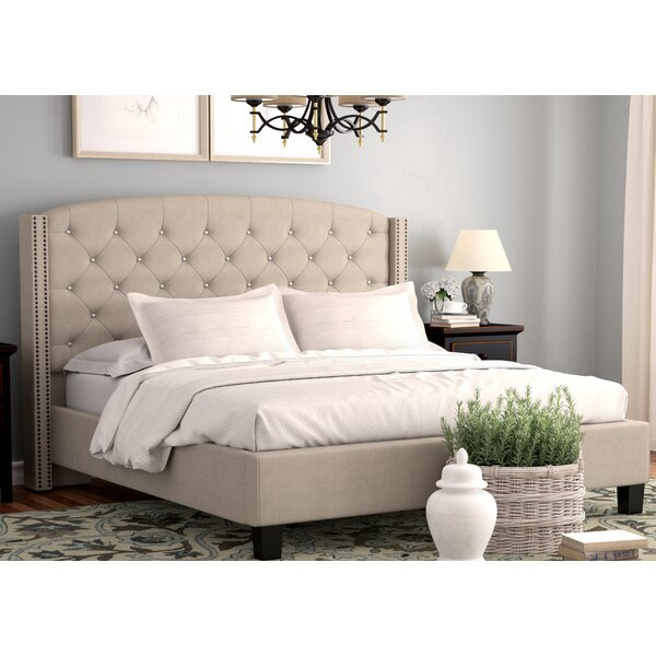 Martins Upholstered Standard Bed by Darby Home Co