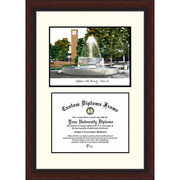 NCAA Cal State Fresno Legacy Scholar Diploma Picture Frame by Campus Images