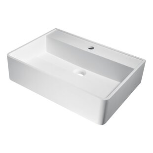 Reviews Tilia Plastic Rectangular Vessel Bathroom Sink By ANZZI