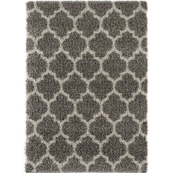 Langner Gray Area Rug by Wrought Studio