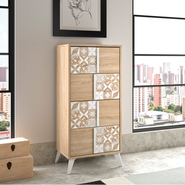 Tillie 4 Drawer Chest by Mistana