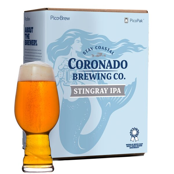 Coronado Stingray IPA Brewing Mix (Set of 2) by PicoBrew