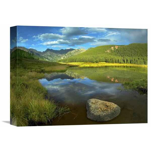 Nature Photographs Mt Powell and Piney Lake, Colorado by Tim Fitzharris Photographic Print on Canvas by Global Gallery