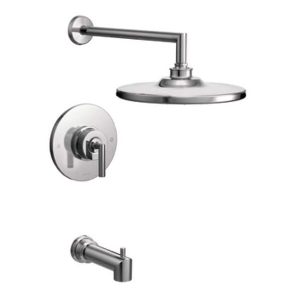 Arris Pressure Balance Tub and Shower Faucet Trim with Lever Handle by Moen