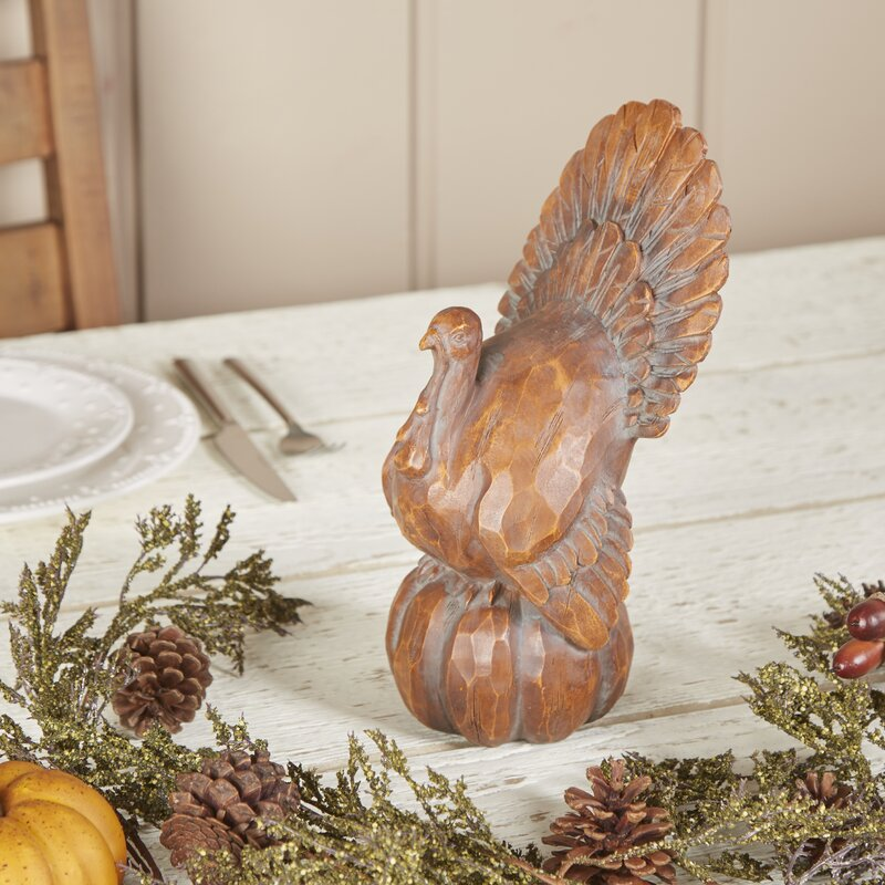 Sitting Turkey Décor
