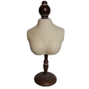 Inexpensive Fabric Covered Bust Display By Ikee Design
