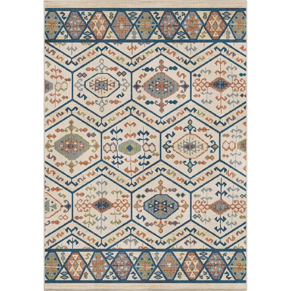 Elina Tribal Pastel Area Rug by World Menagerie