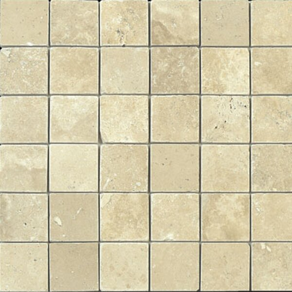 2 x 2 Travertine Mosaic Tile in Durango by Epoch Architectural Surfaces