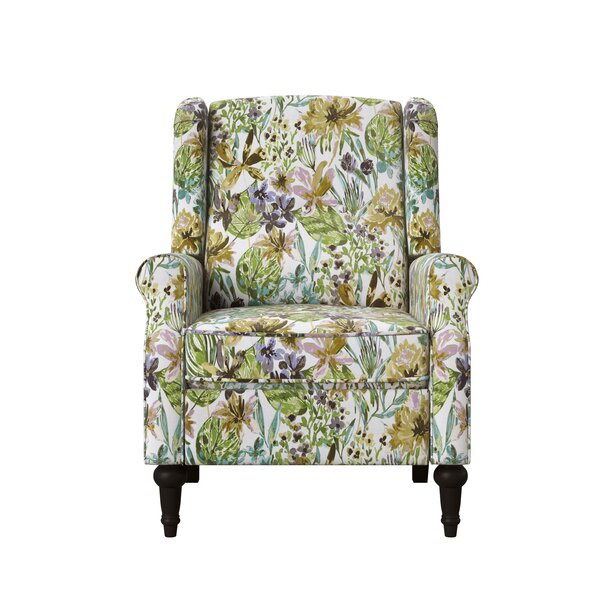 Bay Isle Home Wingback Pushback Upholstered 20