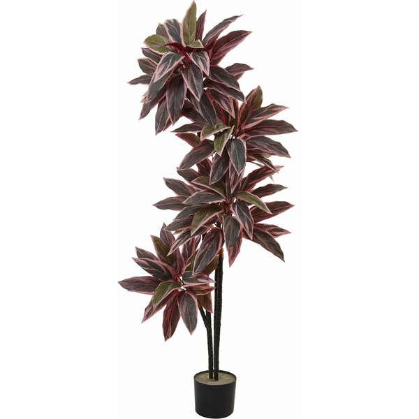 Floor Foliage Plant in Pot by Nearly Natural