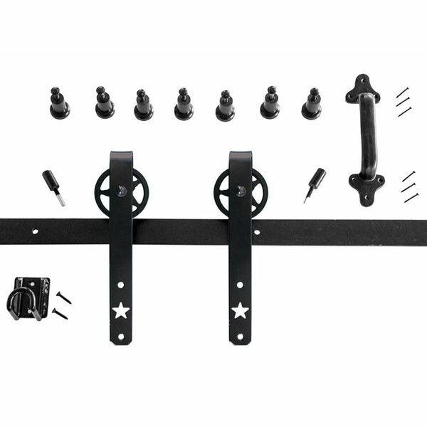 Heavy-Duty Hook Rolling Barn Door Hardware by Harvard Products