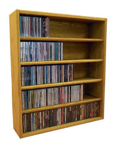Multimedia Storage Rack By Rebrilliant
