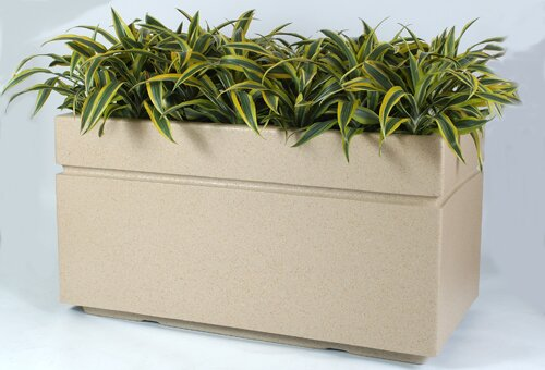 Boulevard Composite Planter Box by Allied Molded Products
