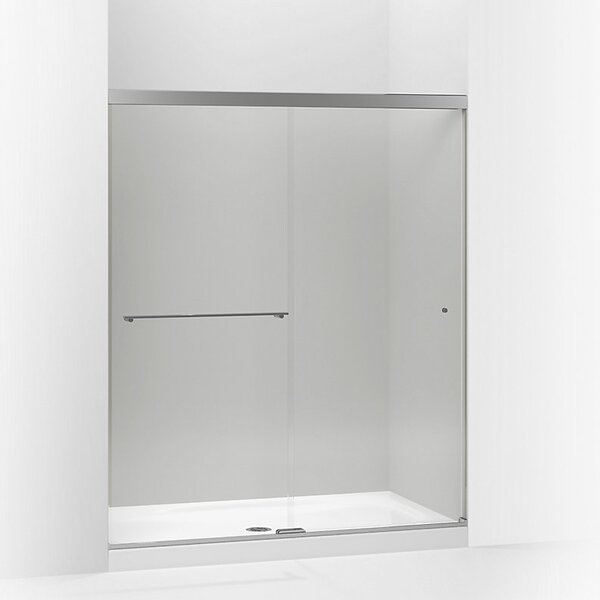Revel 59.63'' x 70'' Double Sliding Shower Door with CleanCoat® Technology by Kohler