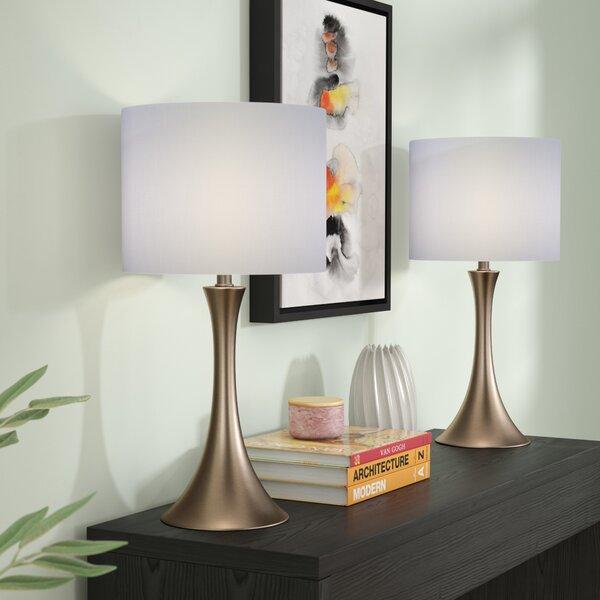 Louis 2 Piece Table Lamp (Set of 2) by Zipcode Design