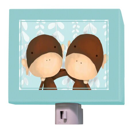 Two of a Kind Night Light by Oopsy Daisy