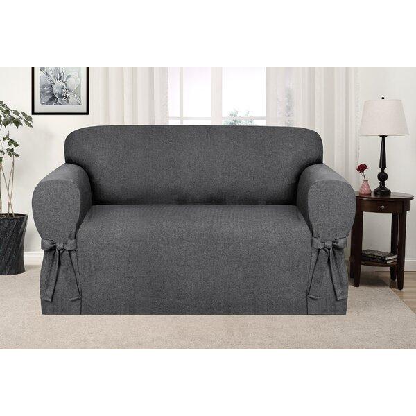 Buy Sale Box Cushion Loveseat Slipcover