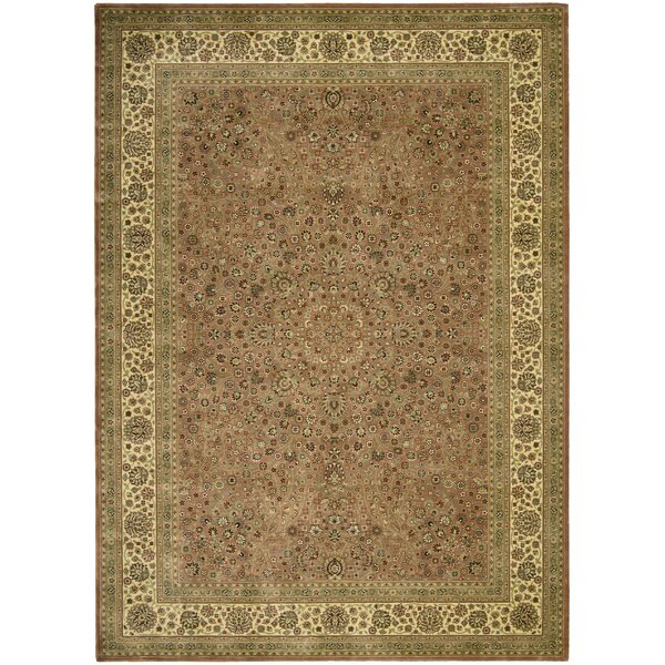 Galen Persian Coffee Area Rug by Astoria Grand