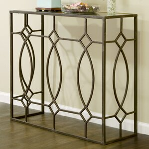 Aaralyn Mirrored Console Table by Glamour Home Decor