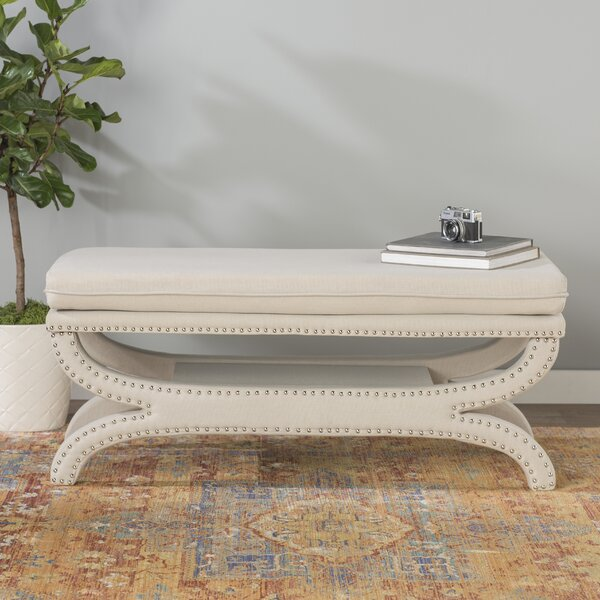 Payne Upholstered Storage Bench by World Menagerie