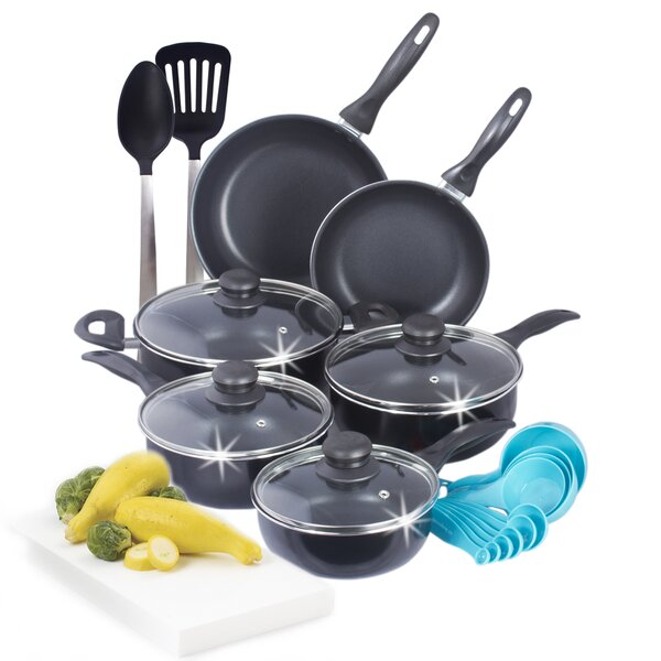 Wayfair Basics 22 Piece Nonstick Cookware Set by Wayfair Basics™