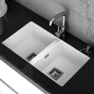 Double Undermount Sink | Wayfair.co.uk