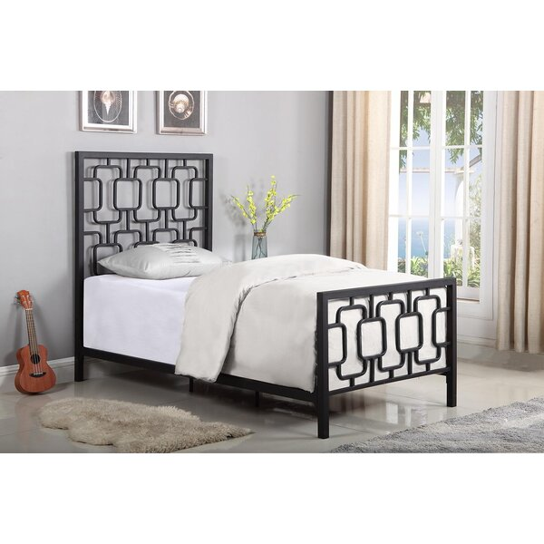 Knaresborough Twin Panel Bed by Harriet Bee