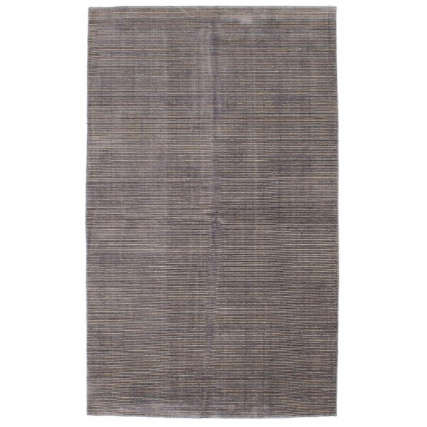 Don Hand-Knotted Light Purple Area Rug by Latitude Run