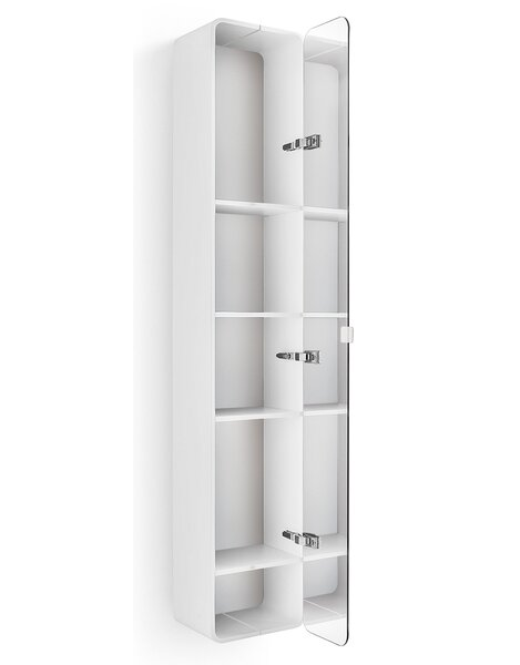 Linea 12 W x 63.4 H Wall Mounted Cabinet by WS Bath Collections