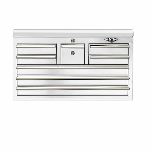 "33"" Wide 8 Drawer Top Chest by Viper Tool Storag"