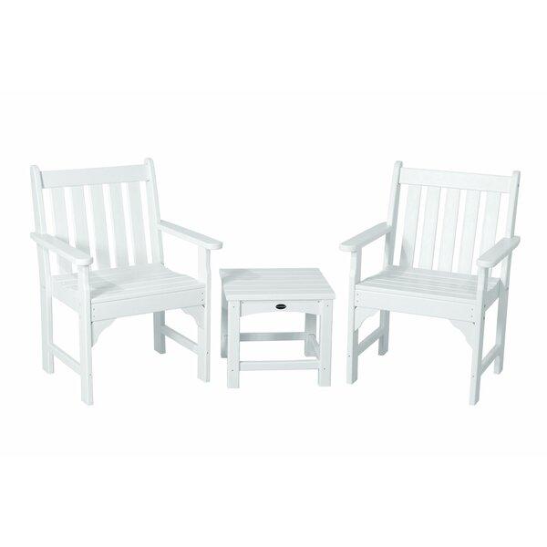 Vineyard 3-Piece Garden Chair Set by POLYWOOD POLYWOOD®