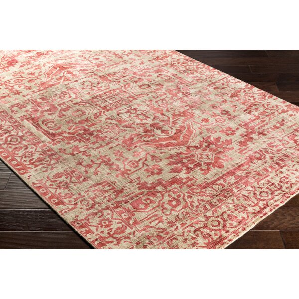 Dollie Hand-Loomed Brown/Gray Area Rug by Bungalow Rose