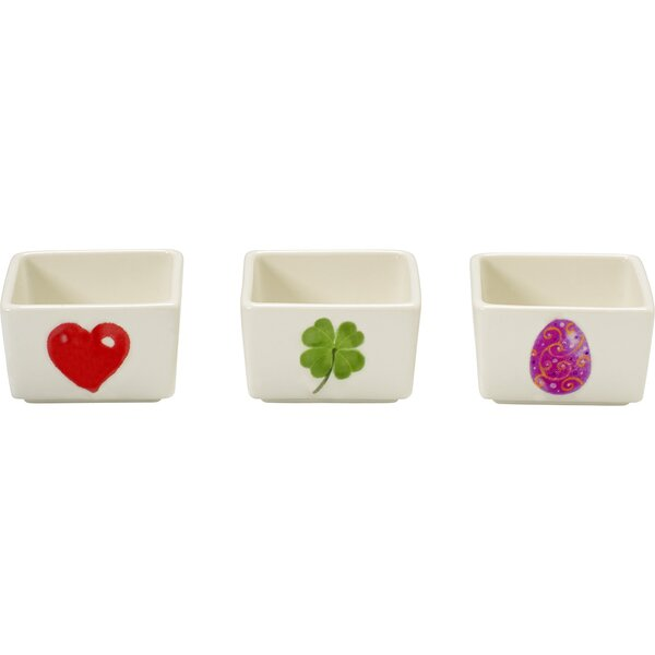Celebration Porcelain Appetizer and Candy/Nut Bowl (Set of 3) by Precious Moments