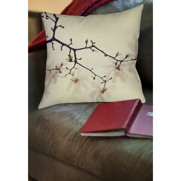 The Soft Explosion Printed Throw Pillow by Manual Woodworkers & Weavers