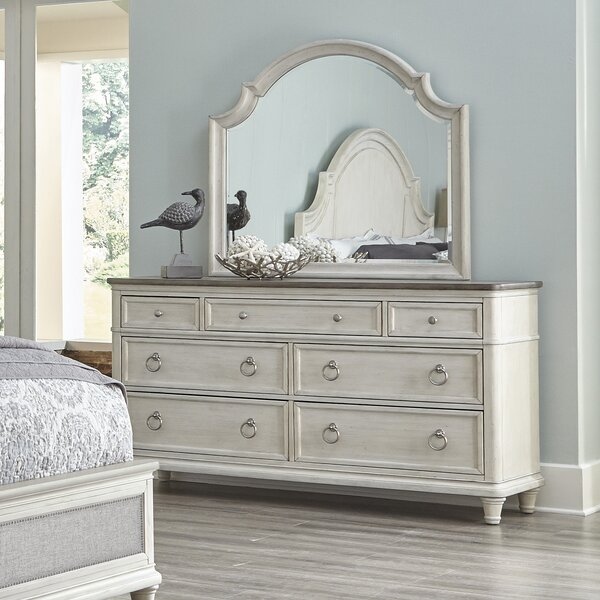 Sonomoa 7 Drawer Double Dresser with Mirror by Panama Jack Home
