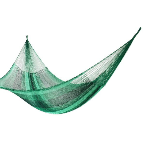 Double Tree Hammock with Stand by Novica