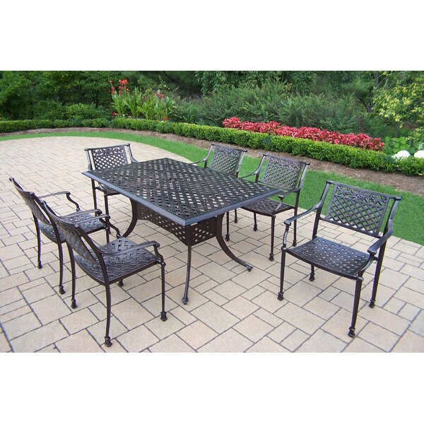Rose 7 Piece Dining Set by Oakland Living