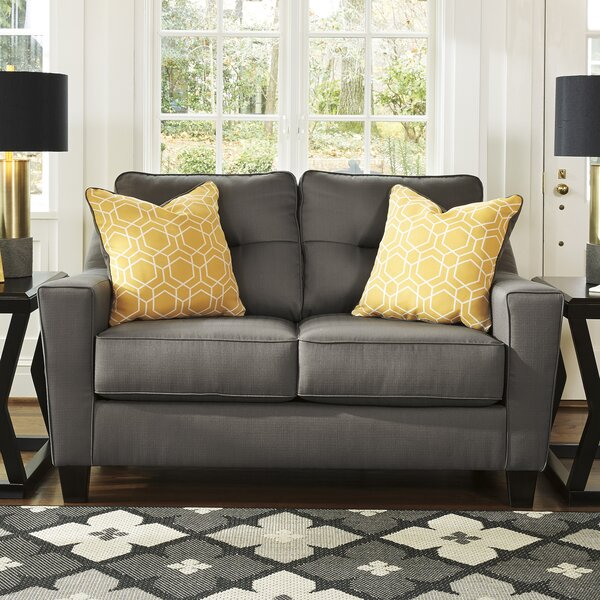 Best Of The Day Huebert Loveseat by Andover Mills by Andover Mills
