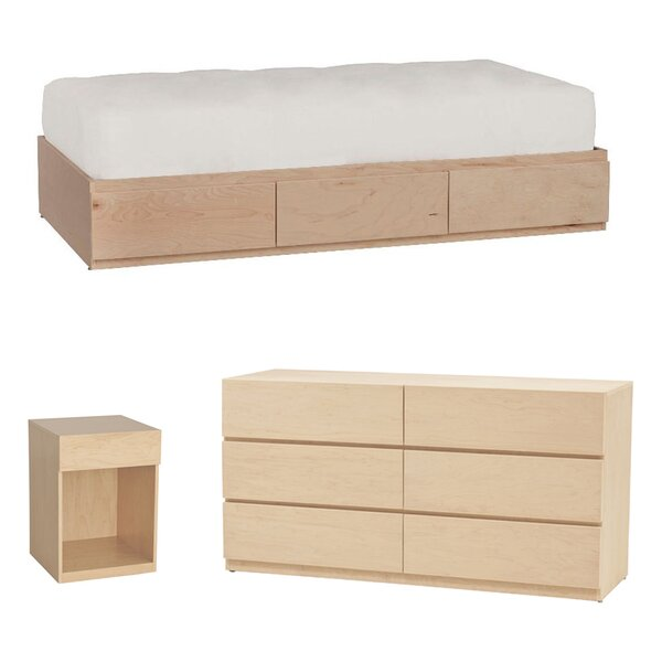 Kasie Platform Configurable Bedroom Set by Harriet Bee