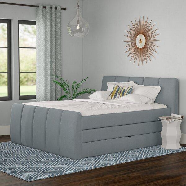 Schwab Upholstered Storage Standard Bed with Mattress by Brayden Studio