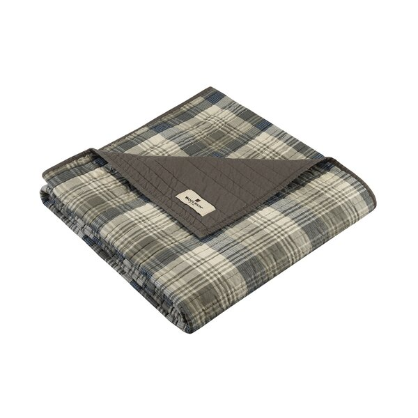 Tasha Quilted Cotton Throw by Woolrich