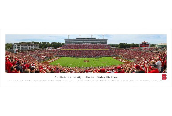 NCAA North Carolina State University - Football Day by James Simmons Photographic Print by Blakeway Worldwide Panoramas, Inc