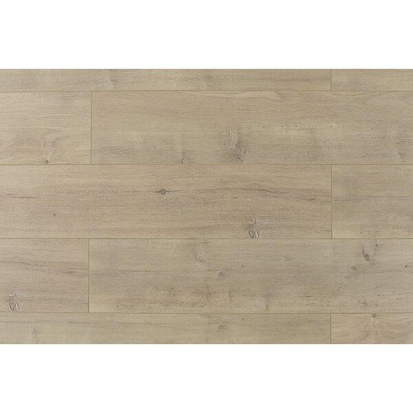 Trini 6.7 x 48 x 12mm Oak Laminate Flooring in Ultra Taupe by Serradon