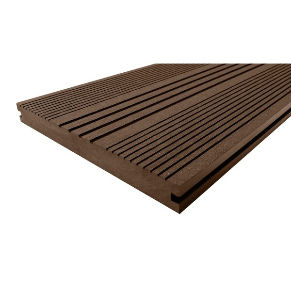 144 x 8 Composite Interlocking Deck Plank in Mocha