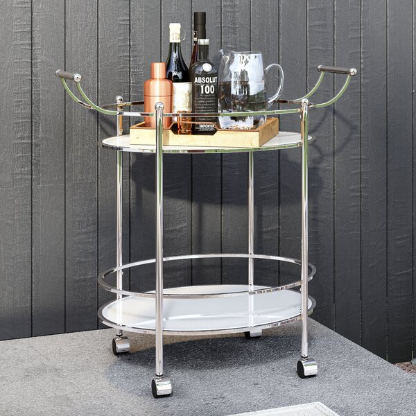 Pruitt Bar Cart by Wade Logan Wade Logan