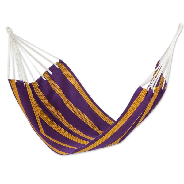 Handwoven Single Acrylic Tree Hammock by Novica
